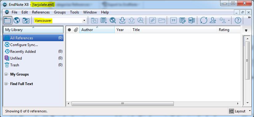 پنجره نرم افزار اندنوت